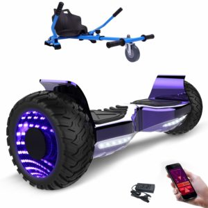 MARKBOARD 6,5zoll Bluetooth Hoverboard Elektro Scooter Skateboarding Self Balance Scooter Musik Lautsprecher