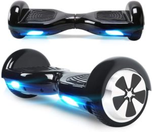 Windgoo Hoverboard, 6.5 Zoll Self Balance Scooter mit Starker Dual Motor - LED Lights Elektro Scooter, Self Balancing Scooter für Kinder