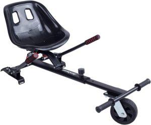 Blaustein EasyCruiser PRO Hoverkart I Premium Hoverboard Sitz als Kart-Erweiterung für alle Hoverboards von 6,5-10 Zoll Federung Größenverstellbar für Kinder und Erwachsene
